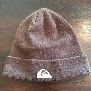 NWOT Quiksilver Brown Knit Hat